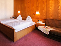 Nice rooms and warm colours provide a deep and invigorating sleep